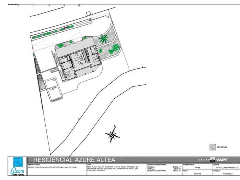 Azure Altea Homes Villa Moderne à Vendre Ref Hb002